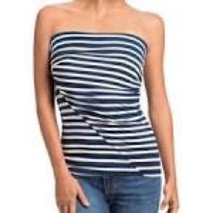 Cabi strapless top